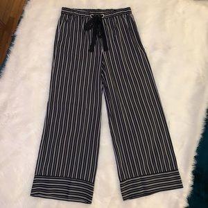 🌺 ANTHROPOLOGIE {Mystree} Wide Leg Stripe Pants